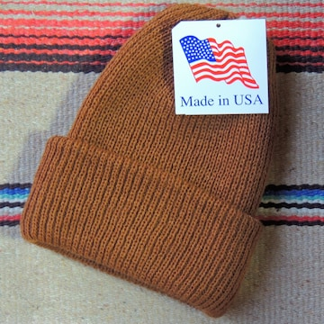 USA製アーテックスARTEX KNITニットキャップCOPPER ニット帽