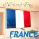 フランスの国旗 星条旗 横幅 約150cm〜160cm 縦幅 約90〜95cm