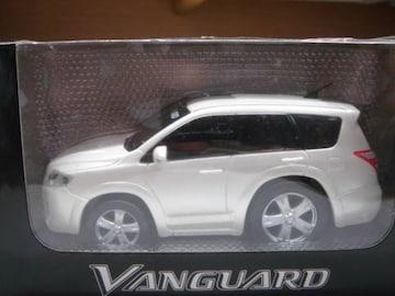 トヨタ ヴァンガードプルバックミニカー白