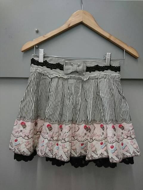 Ank Rouge☆ストライプ×アイス柄スカート  < ブランドの