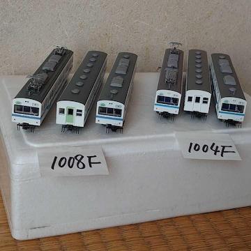 鉄道コレクション秩父鉄道1000系(新塗装)3両セット×2本