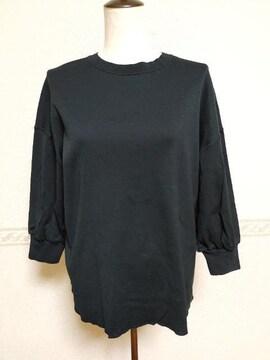 23区ONWARDカタログ掲載使える可愛い黒色カットソー☆新品
