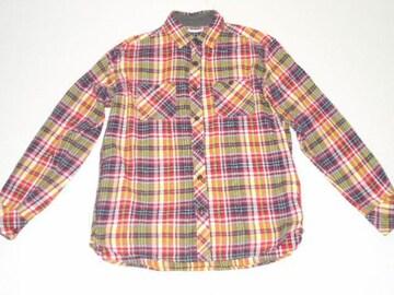 衣類 メンズ Mサイズ 長袖シャツ チェック柄 G.U.
