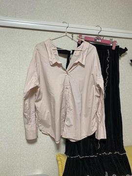 ココディール バックが素敵なシャツ 美品
