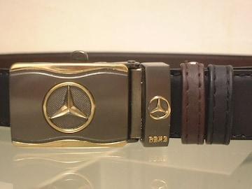 ★30%OFF★Mercedes‐Benz★リバーシブル★革ベルト★新品★