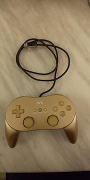 Wii☆ゴールデンクラシックコントローラ☆PRO☆非売品☆