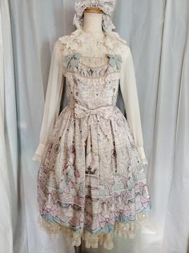 Antoinette Decorationジャンパースカート+カチューシャ