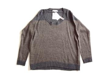 新品 grove グローブ 軽い ニット セーター S 羊毛 アルパカ