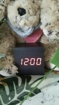 ウッディデジタル時計