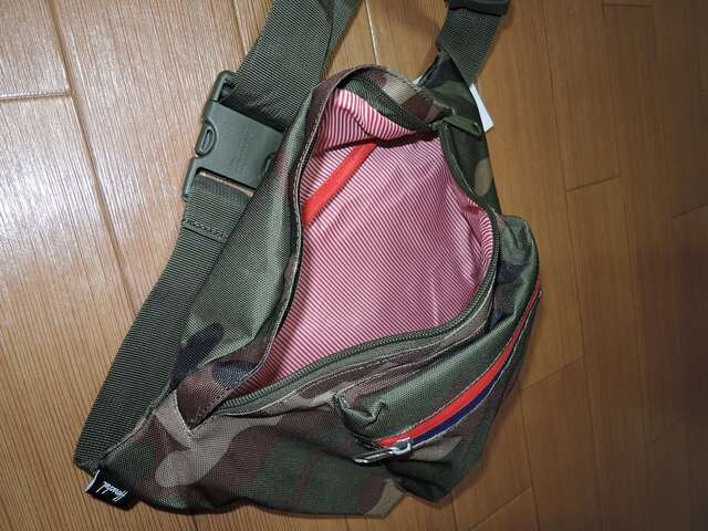 新品Herschel迷彩ウエストバッグ鞄ハーシェル取扱いジャーナル < ブランドの