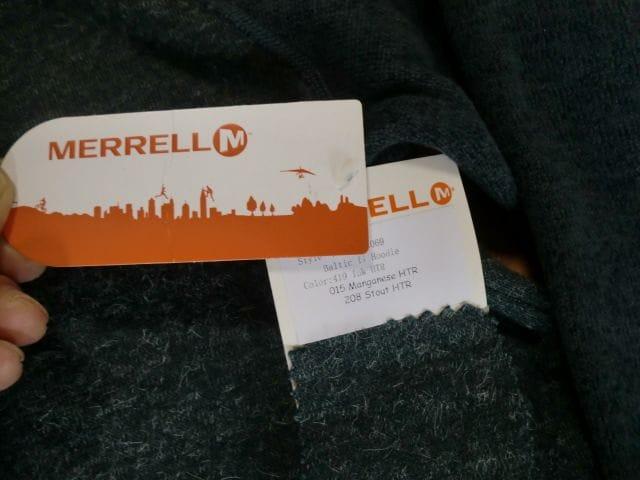 MERRELL BALTIC メレル パーカー ジャケット M 新品 < ブランドの