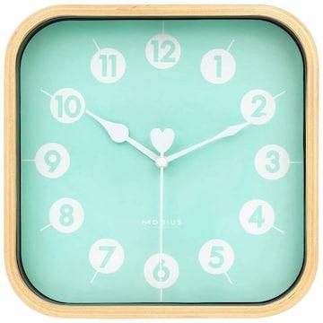 インテリア 掛け時計 アナログ 木製 コンパクト 23C9