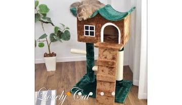 キャットハウス、猫ちゃんのお家 キャットツリー