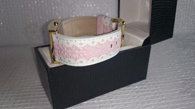 liebe リエベ ピンク色 婦人腕時計 新品未使用 アビステ ショップチャンネル < 女性アクセサリー/時計の