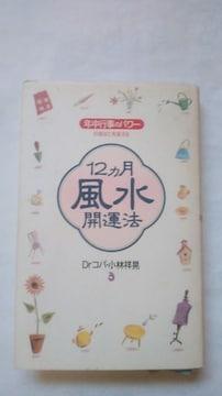 小林祥晃著 ドクターコパ 12カ月風水開運法 中古本