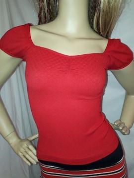 CLASS シームレス Tシャツ 赤 レッド
