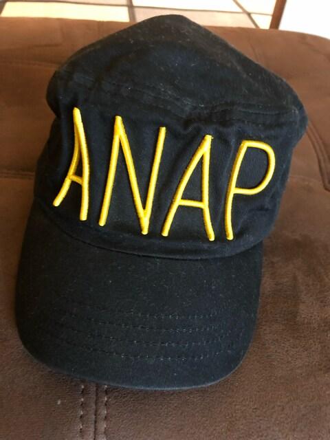 アナップガール ANAP キャップ可愛いロゴ56  < ブランドの