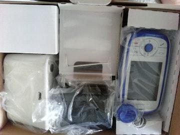 キッズ携帯電話防犯ブザーHW-01Dブルー製造番号863435017926043