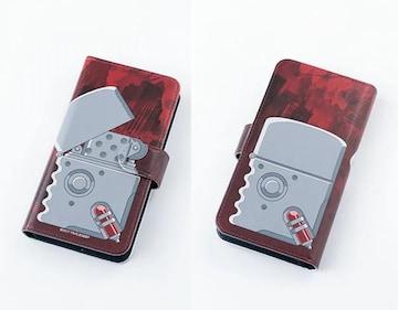 送料無料!血界戦線 ザップのライター風 手帳型スマホケース