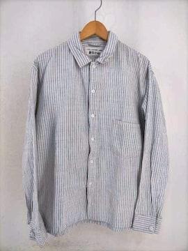 45rpm(フォーティーファイブアールピーエム)YUKI COTTON ストライプ柄 ボタンシャツシャツ