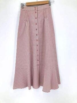 Ron Herman(ロンハーマン)20aw check Flare Skirtフレアスカート