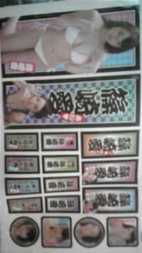 篠崎愛☆ステッカーセット