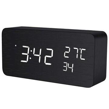 四角目覚まし 置き時計 卓上時計 デジタル