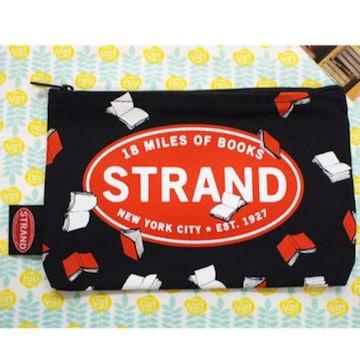 ストランドブックストアstrand book storeアメリカ製ポーチ