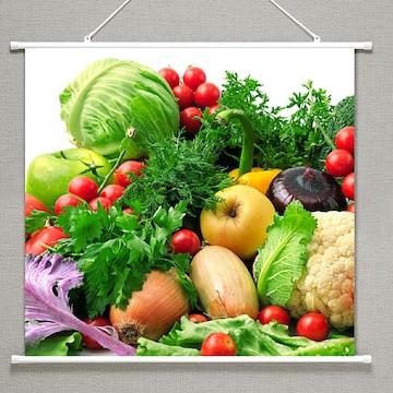 タペストリー果実と野菜 159  サイズ91×85cm 新品