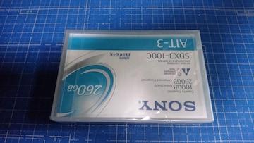 499 SONY SDX3-100CR AIT-3 260GB DATECARTRIDGE 未開封