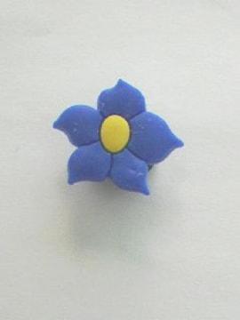 〓サンダルアクセサリー〓青い花〓