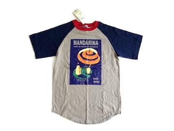 新品 定価3900円 サブロク SABUROKU ラグラン イラスト Tシャツ
