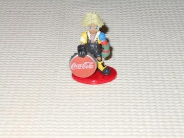 ファイナルファンタジー フィギュア コカコーラ 9 ティーダ