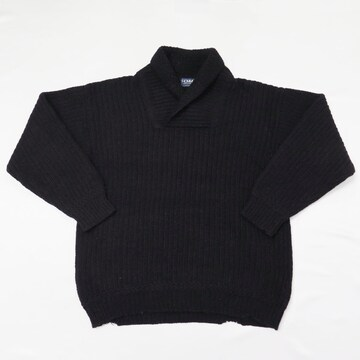 80s コムデギャルソン オム デカオム ショールカラー ニット セーター ビンテージ