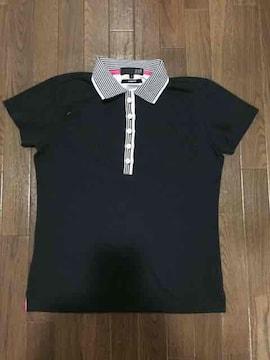 23区 ゴルフ ポロシャツ ブラック