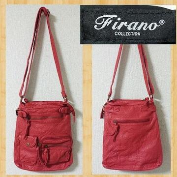Firano フィラノ ショルダーバッグ レザー 美品
