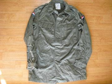 オランダ軍 1981 ミリタリーシャツ 92 Lサイズ