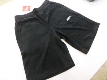 L黒)プーマ★ハーフパンツ 583033 ショート丈 パイル・タオル地 吸汗 柔か