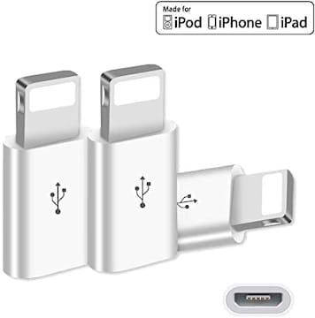 純正 Micro USB to Lightning 変換アダプタ 急速充電とデータ伝