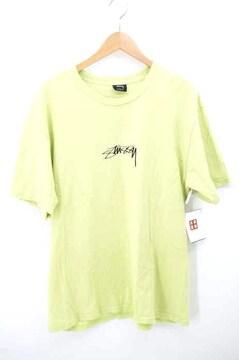 Stussy(ステューシー)ロゴ刺繍クルーネックTシャツクルーネックTシャツ