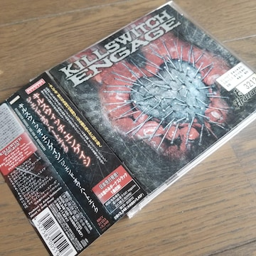 ★KILLSWITCH ENGAGE「THE END OF HEARTACHE」国内盤帯付き