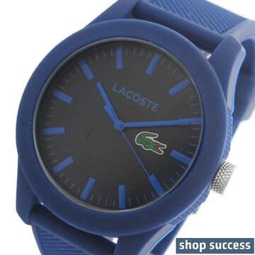 新品 即買い■ ラコステ メンズ 腕時計 2010765 ネイビー