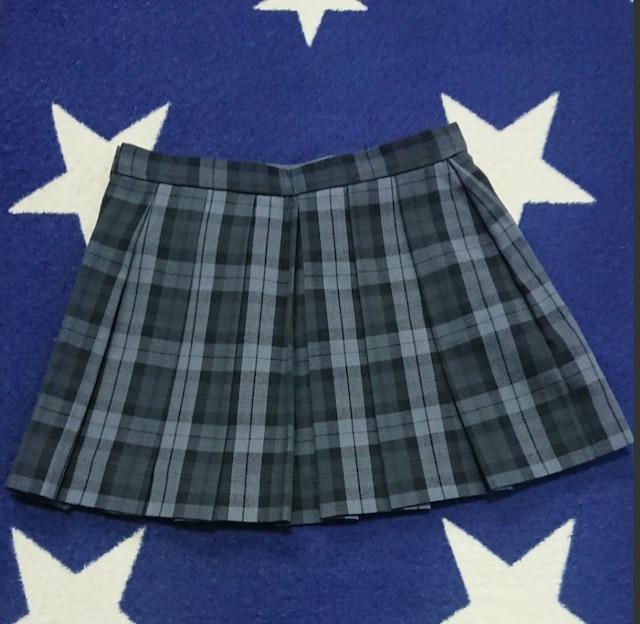 ☆COMMECA コムサ ブロックチェック柄 スカート 新品未使用110☆ < ブランドの