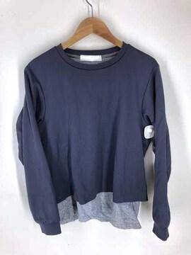 ETHOSENS(エトセンス)ボンティング レイヤード TシャツクルーネックTシャツ
