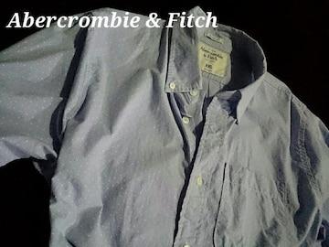 【Abercrombie & Fitch】アバクロ Vintage カジュアルシャツ XXL/ドット柄