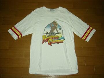ヒステリックグラマーHYSTERIC GLAMOURカットソーL5分丈Tシャツ
