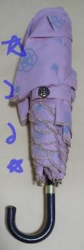 クレイサス CLATHAS カメリアロゴスカラ折り畳み傘 ピンク 新品