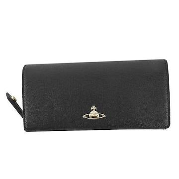 ◆新品本物◆ヴィヴィアンウエストウッド SAFFIANO 長財布(BK)51060001◆
