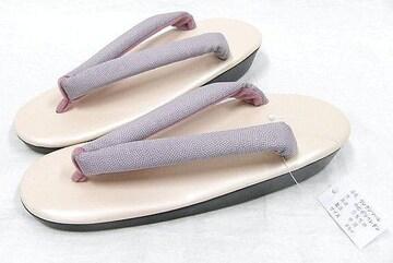 サメ小紋模様の鼻緒 フリーサイズ ウレタンソール草履