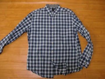 J.CREW TARTAN ジェイクルー BDシャツ USA−Lサイズ